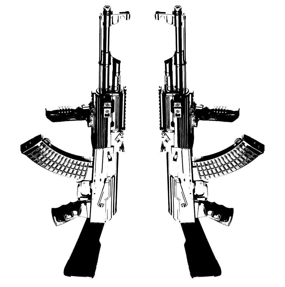 AK 47 BLACK by rcarts