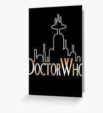 doctor Greeting Card