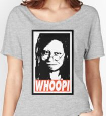 WHOOPI Women's Relaxed Fit T-Shirt
