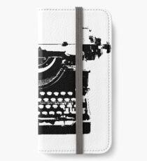 typewriter iPhone Wallet