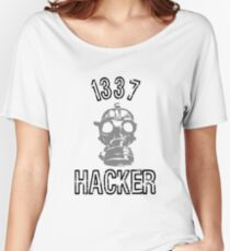 "1337 ""Elite"" Hacker  Women's Relaxed Fit T-Shirt"
