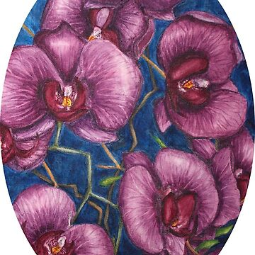 Purple moth orchid by MCColyer