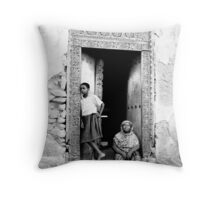 Mama Mariam Throw Pillow