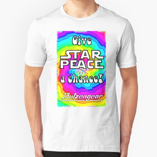 Give Star Peace A Chance! Slim Fit T-Shirt