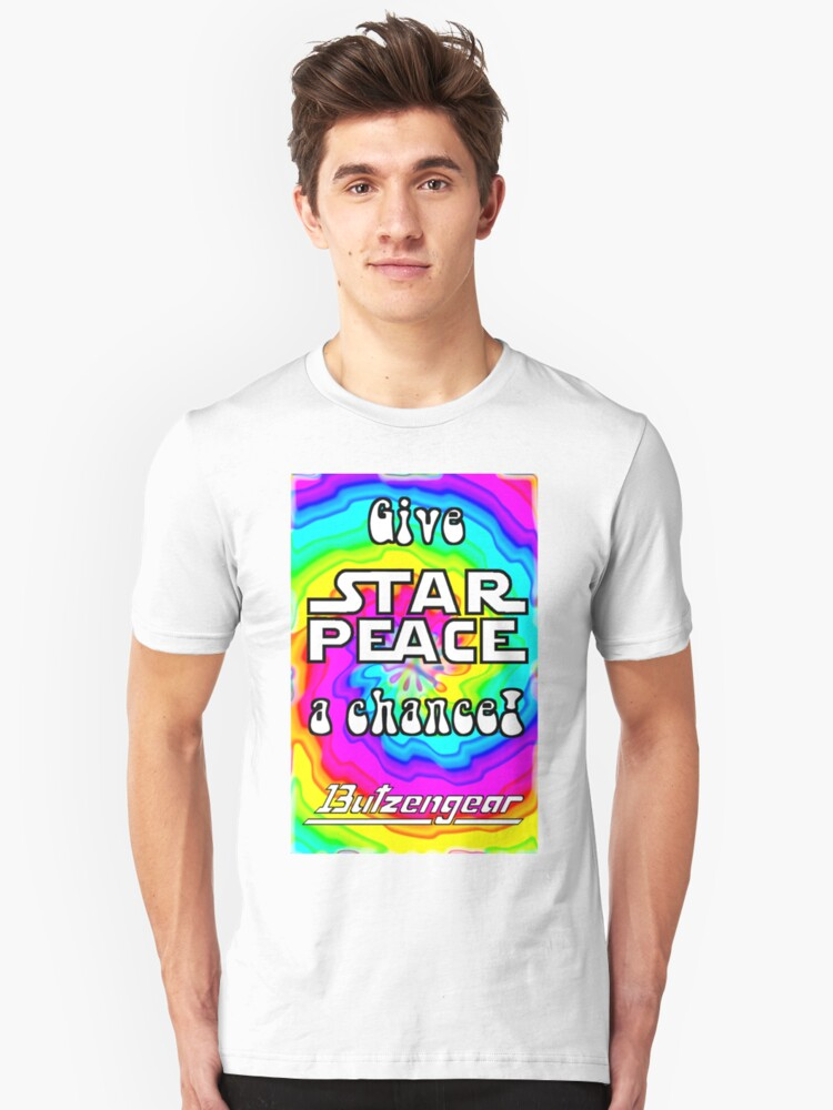 Give Star Peace A Chance! Unisex T-Shirt Front