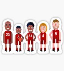 basketball Team Sticker
