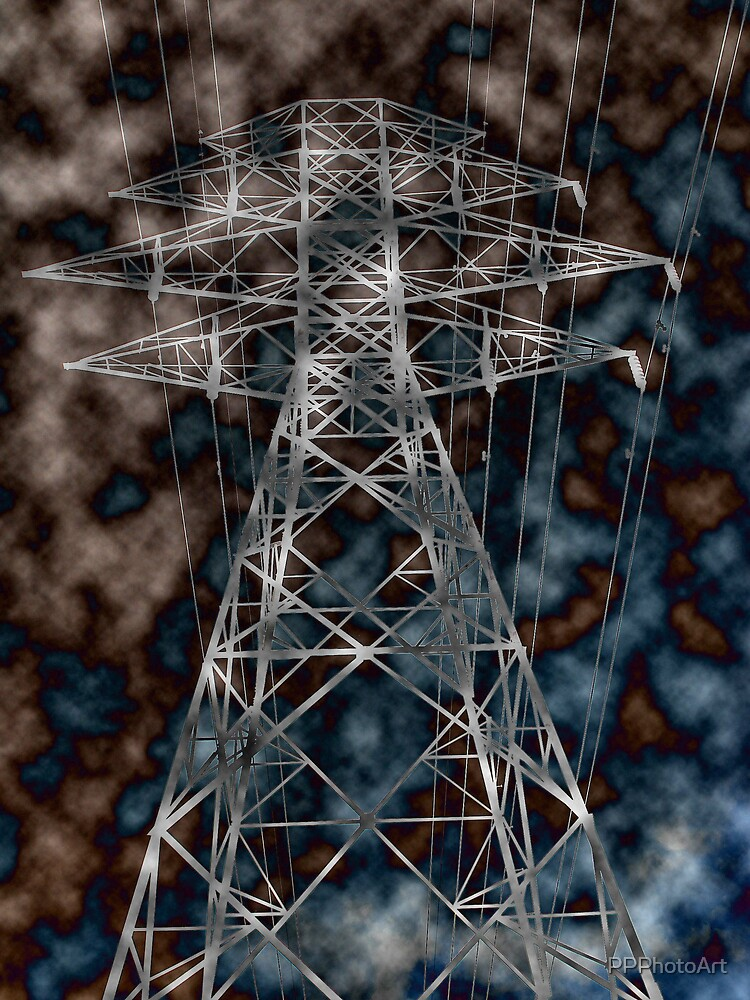 Hydro tower by PPPhotoArt