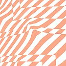 Ripple (salmon pink) by wallpaperfiles
