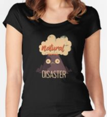Natural Disaster Women's Fitted Scoop T-Shirt