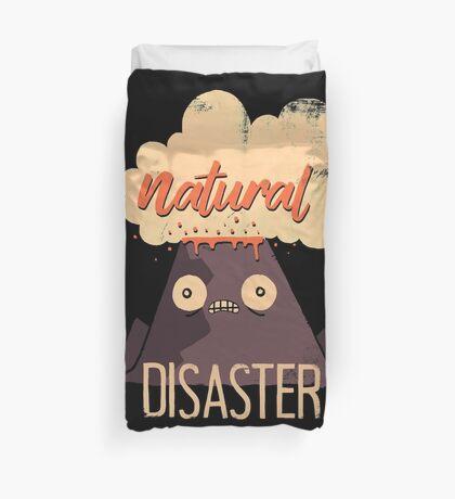 Natural Disaster Duvet Cover