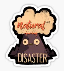Natural Disaster Sticker