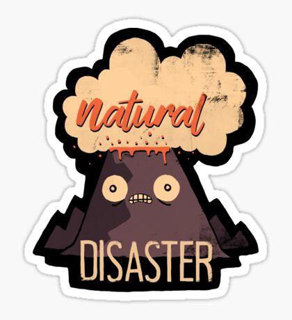 Natural Disaster Sticker