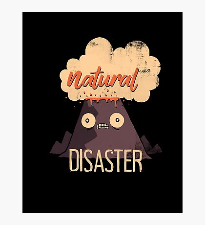Natural Disaster Photographic Print