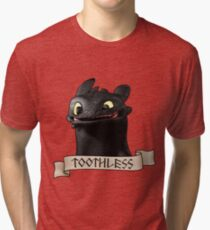 Toothless Smile Tri-blend T-Shirt