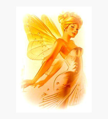 Blonde Fairy Photographic Print