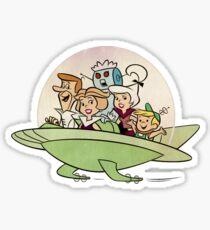 The Jetsons, retro vintage Sticker