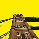 Tower Bridge - Yellow by Lea Valley Photographic