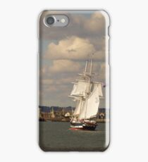 TS Royalist entering Poole Harbour iPhone Case/Skin