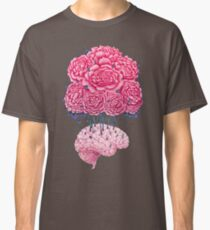 Creative Brains with peonies  Classic T-Shirt