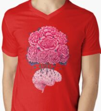 Creative Brains with peonies  T-Shirt