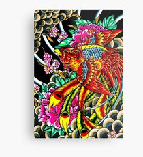 japanese phoenix  Metal Print
