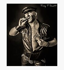 TROY T SCOTT - CIGARS & LEATHER Photographic Print