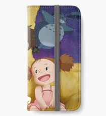 Studio Ghibli's Mei & Satsuki Inside the Catbus iPhone Wallet/Case/Skin