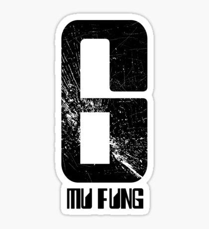 Mu Fung Rollerball Sticker