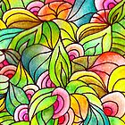 Colourful Jungle by CarolineLembke