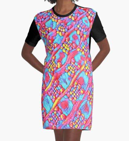 The Candy Shop Graphic T-Shirt Dress