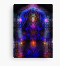 Temple Being Canvas Print