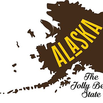 A funny map of Alaska by funnymaps