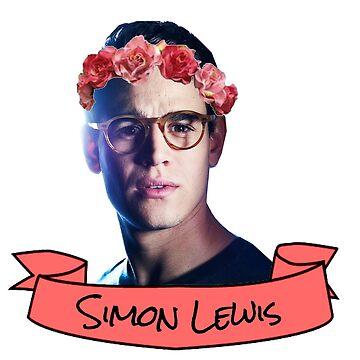 simon flower crown sticker by lunalovebad