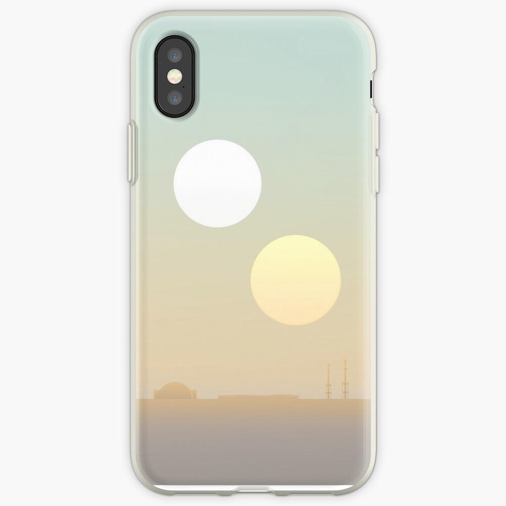 zwei Sonnen iPhone-Hüllen & Cover