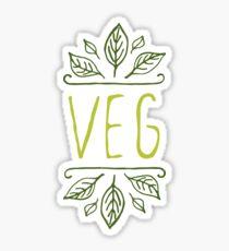 VEG Sticker