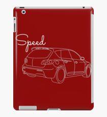 MazdaSpeed 3 Outline - Speed Artwork iPad Case/Skin