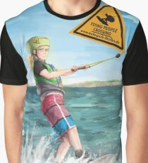 Wakeboard girl Graphic T-Shirt