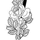Rose & Dagger - Doug Fawkes by Flaminggun