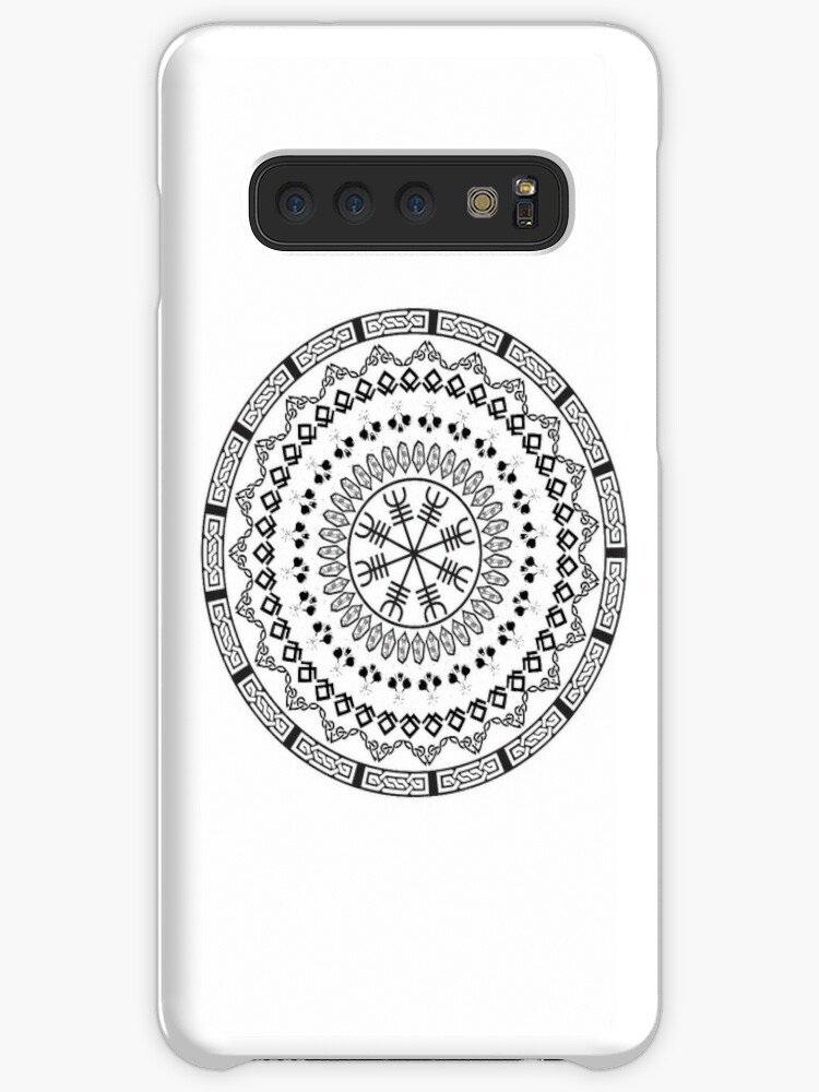 'Nordic Symbols' Case/Skin for Samsung Galaxy by tharinmagem