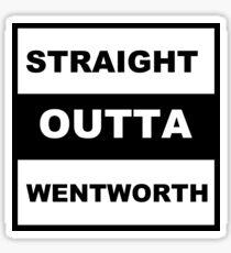 Straight Outta Wentworth Sticker