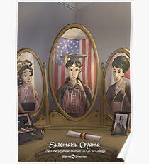 Sutematsu Oyama - Rejected Princesses Poster