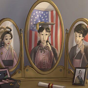 Sutematsu Oyama - Rejected Princesses by jasonporath