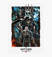 The Witcher Wild Hunt Photographic Print