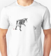 Shiba Inu and his new friend  Unisex T-Shirt