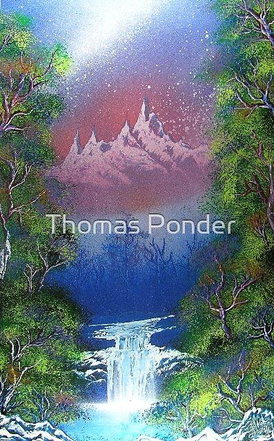 Mountains 1 by Thomas Ponder