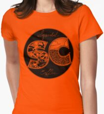 Sequentian Coffee  Womens Fitted T-Shirt