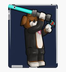 Beagle Jedi Illustration iPad Case/Skin