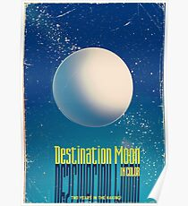 destination moon movie poster Poster