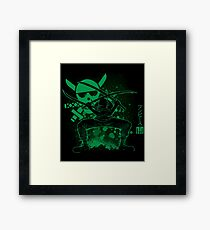 The Triple Sword Framed Print