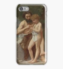 Jules Cyrille Cave B. FRENCH LESSON OF FLUTE iPhone Case/Skin